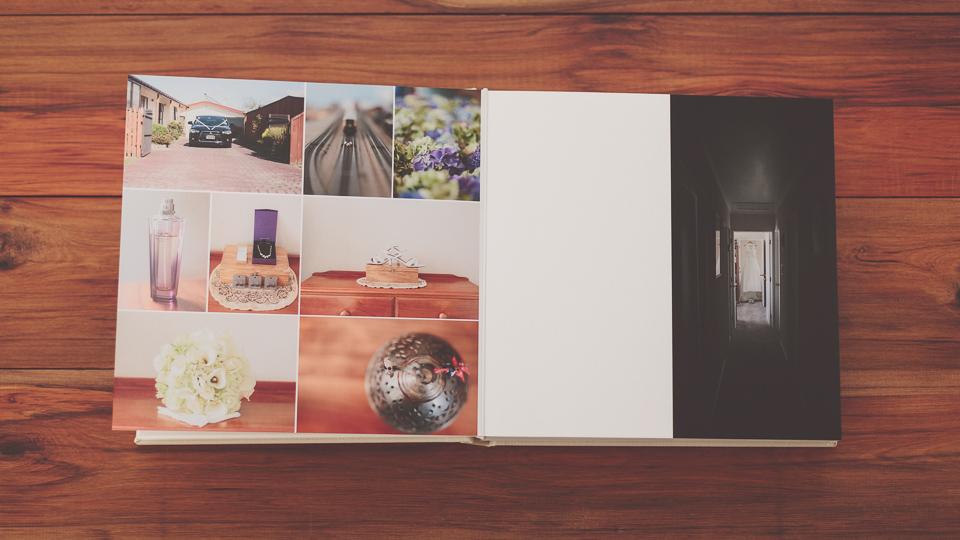 Fine-art wedding albums