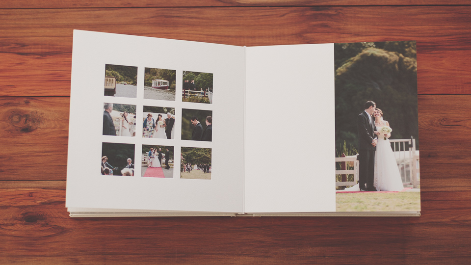 Wellington wedding album