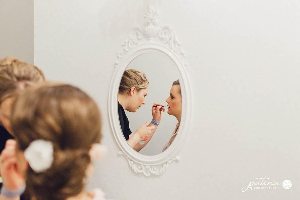 Salute Salon wedding hair and makeup