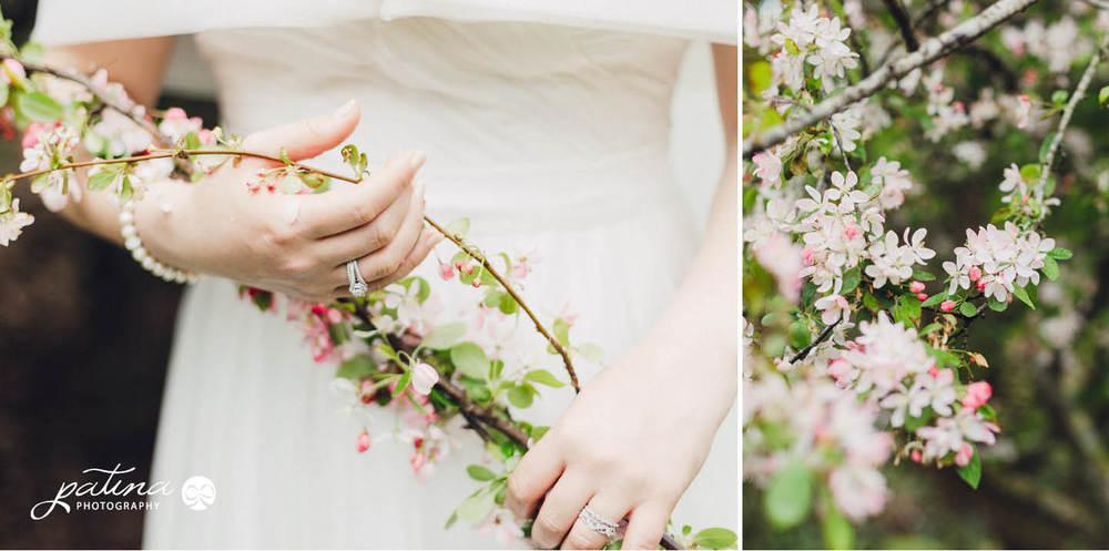 Spring blossom bouquet