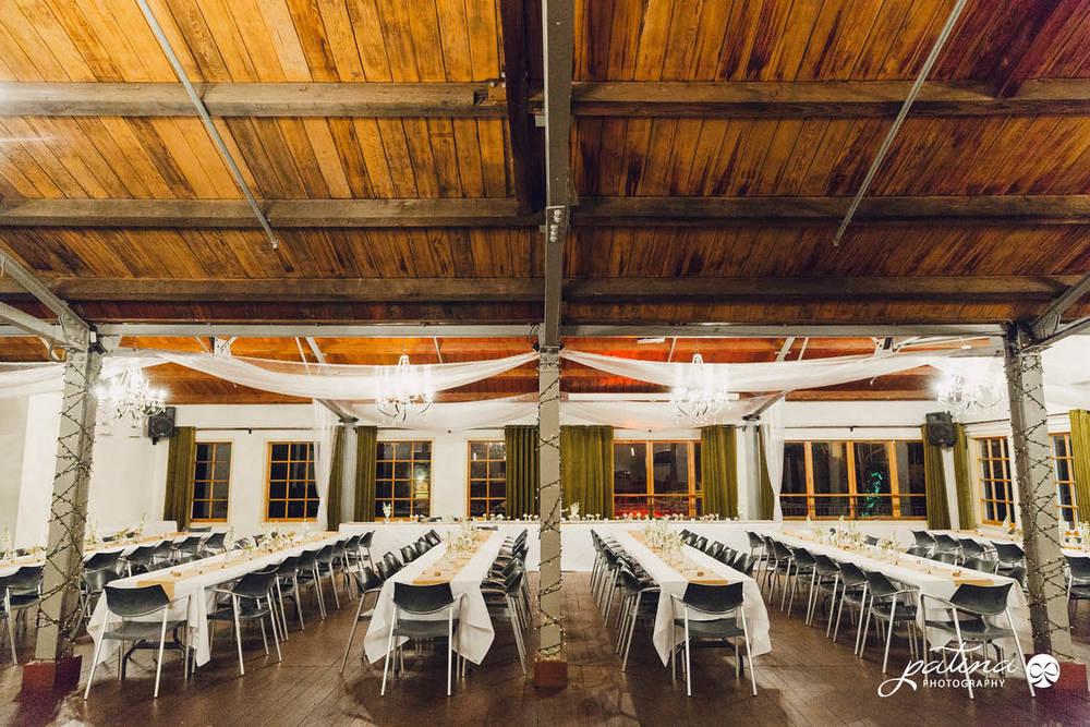 Foxglove wedding reception