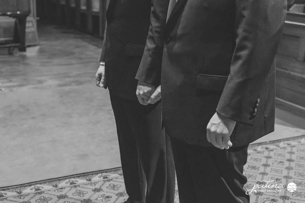 New Zealand same sex couple wedding