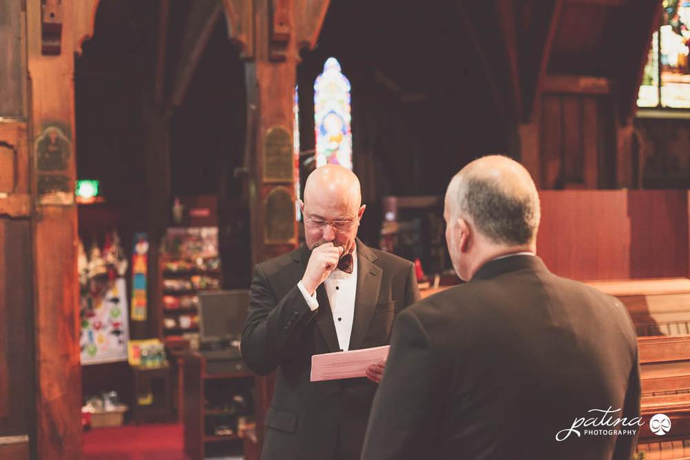 Old Staint Pauls wellington wedding