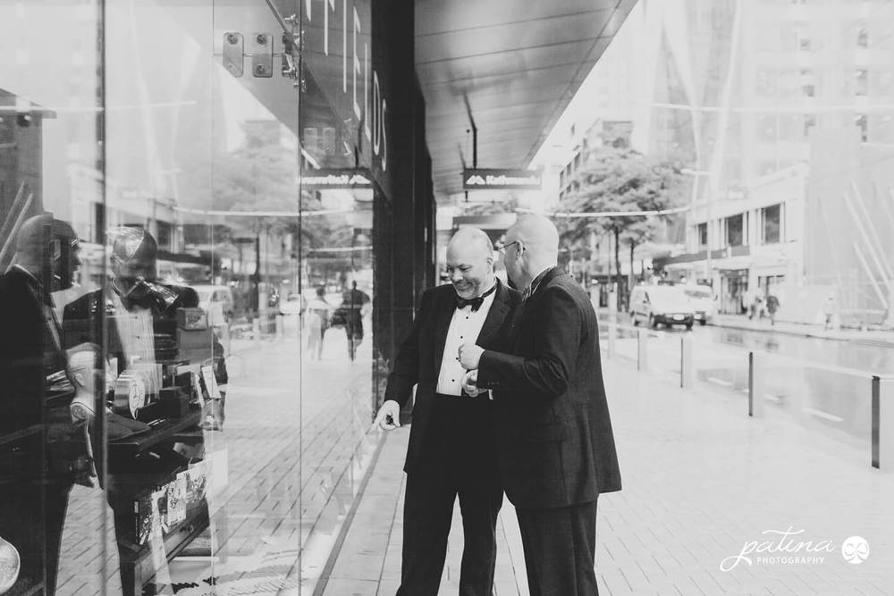 Wellington urban wedding photos