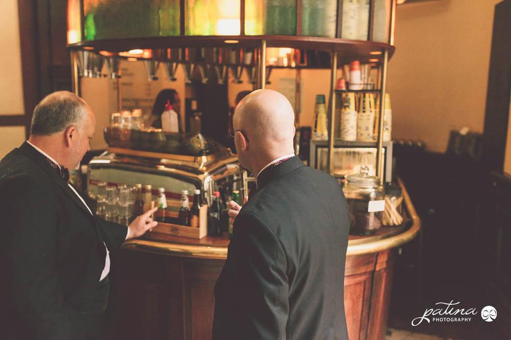 Cafe wedding photography, Wellington New Zealand