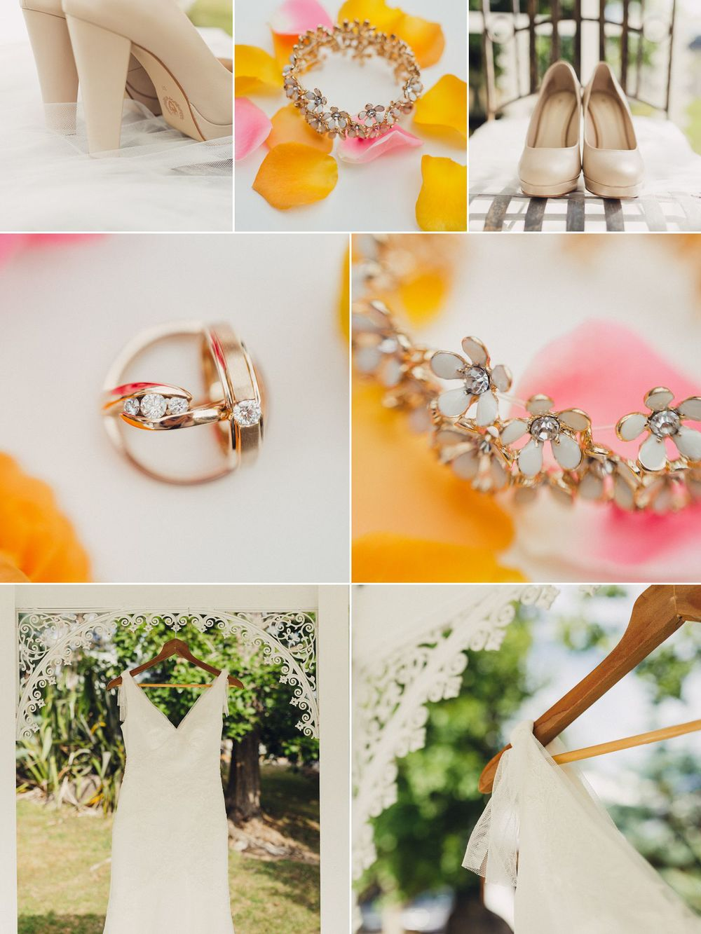 Whimsical Wedding Details and Vera Wang Dress