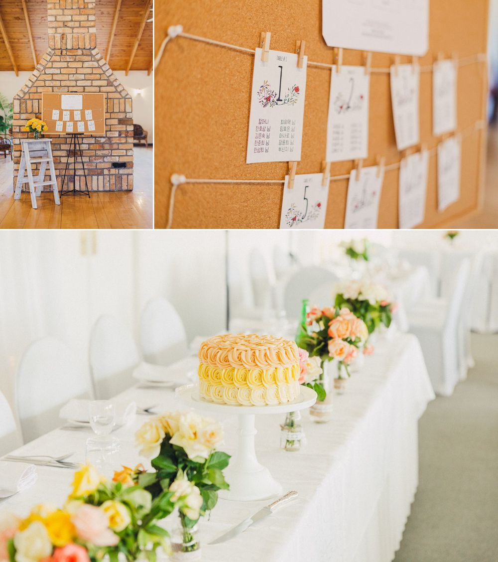 DIY Wedding Reception Details