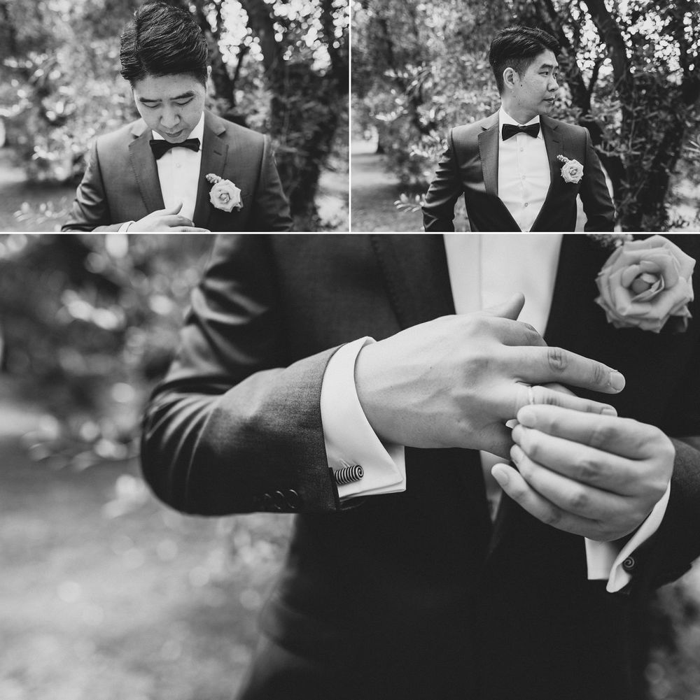 Korean Groom Wedding Style