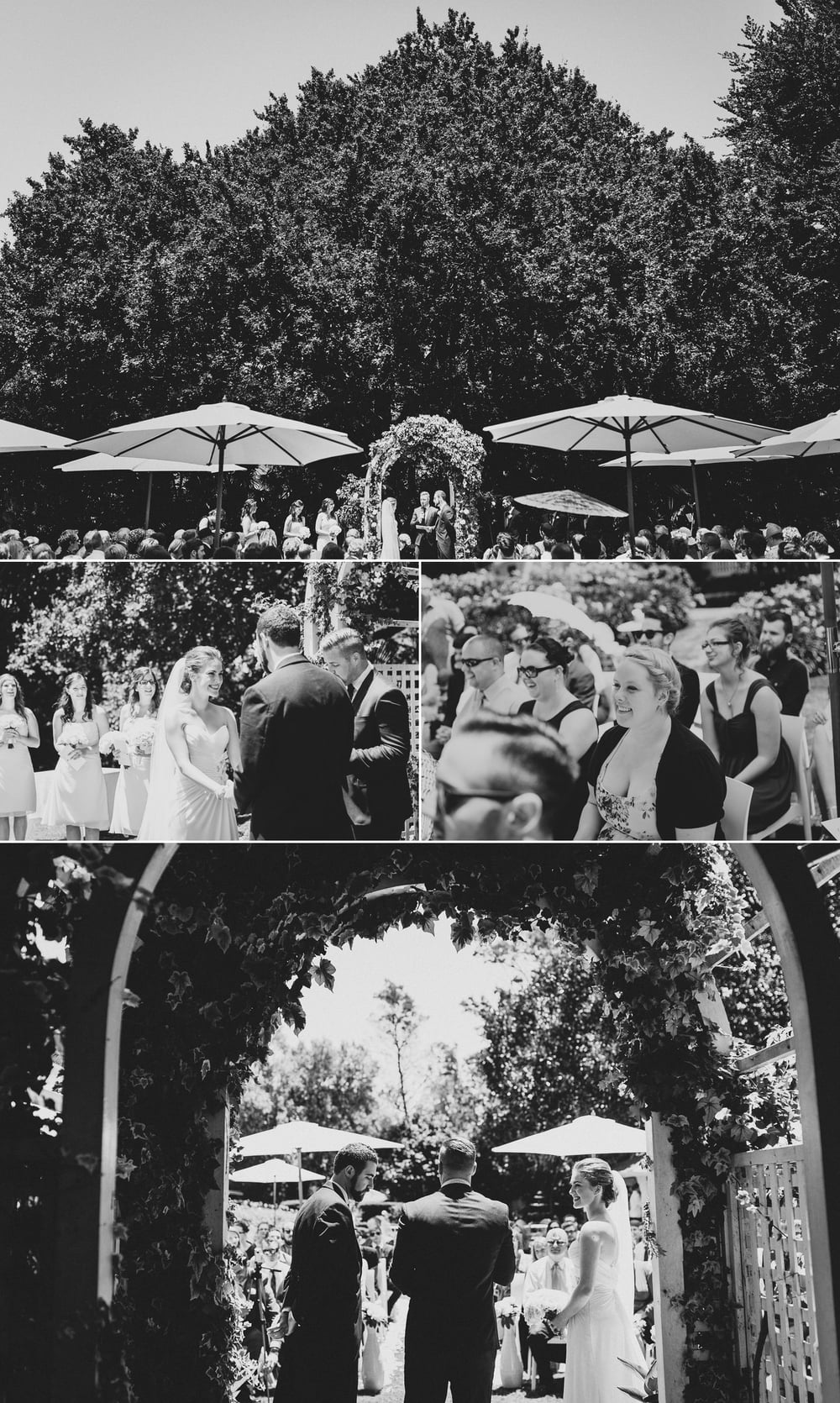 Desitnation photographer Hawkes Bay wedding ceremony at Ormlie Lodge