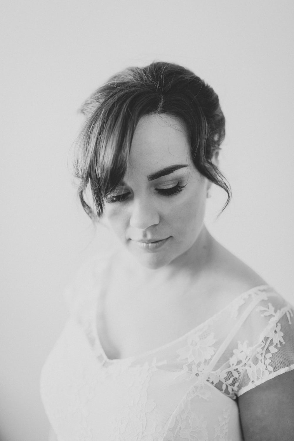 Simple stylish whanganui bride wearing Sally Eagle Dress