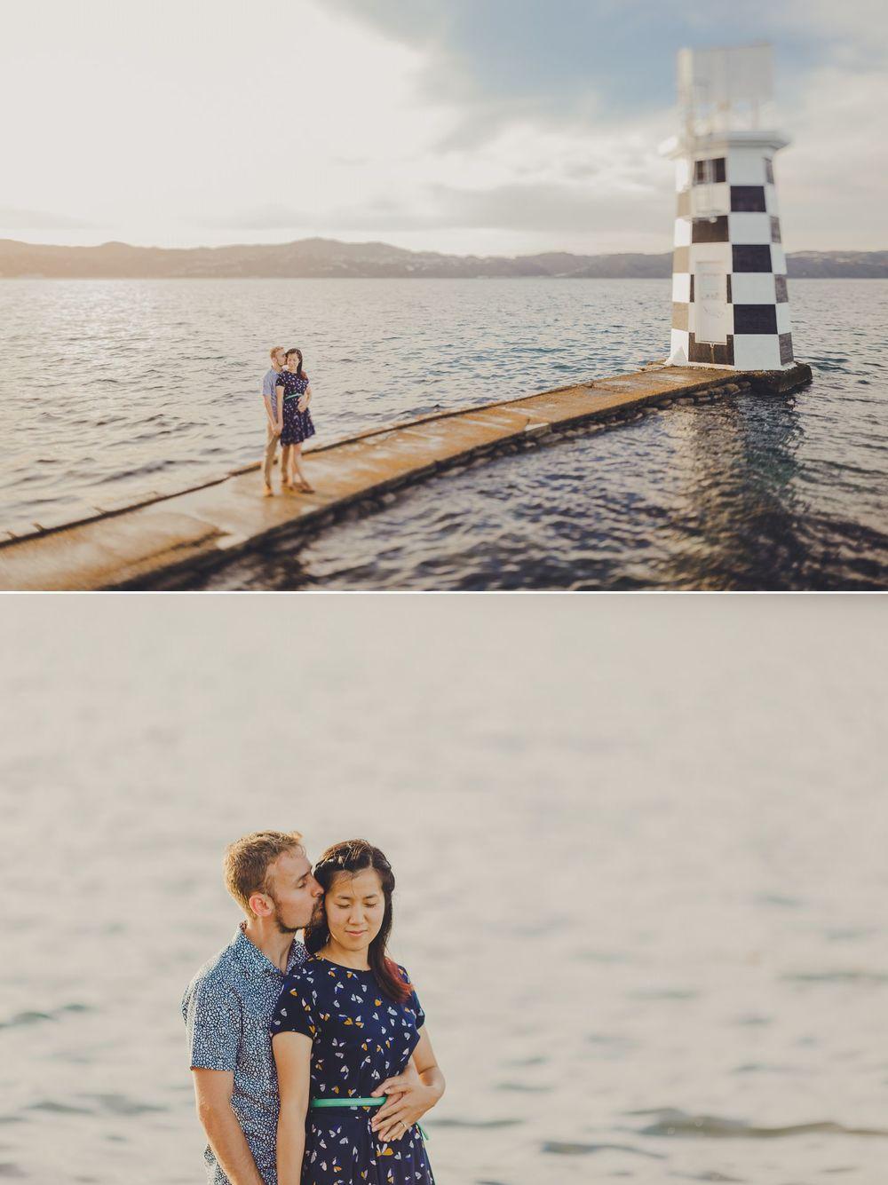 Wellington Lighthouse Couple Session