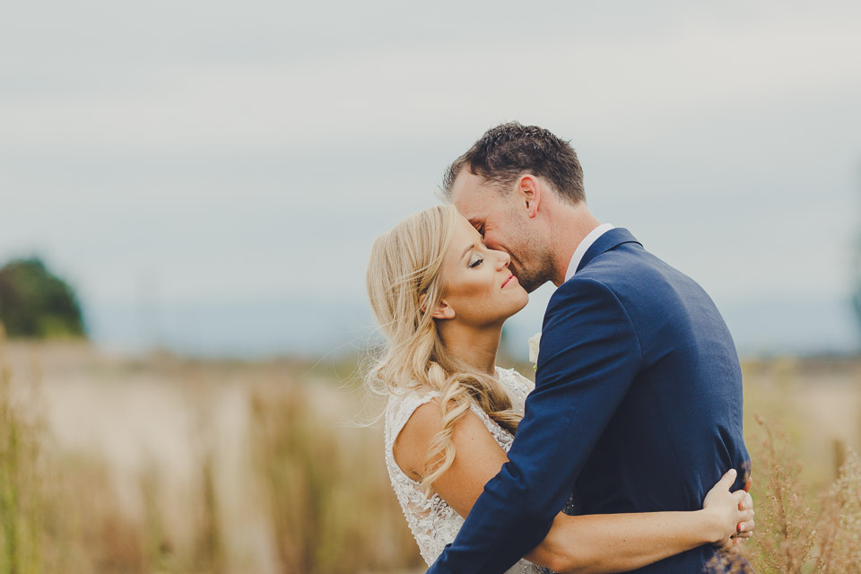 Emotion filled wedding photography