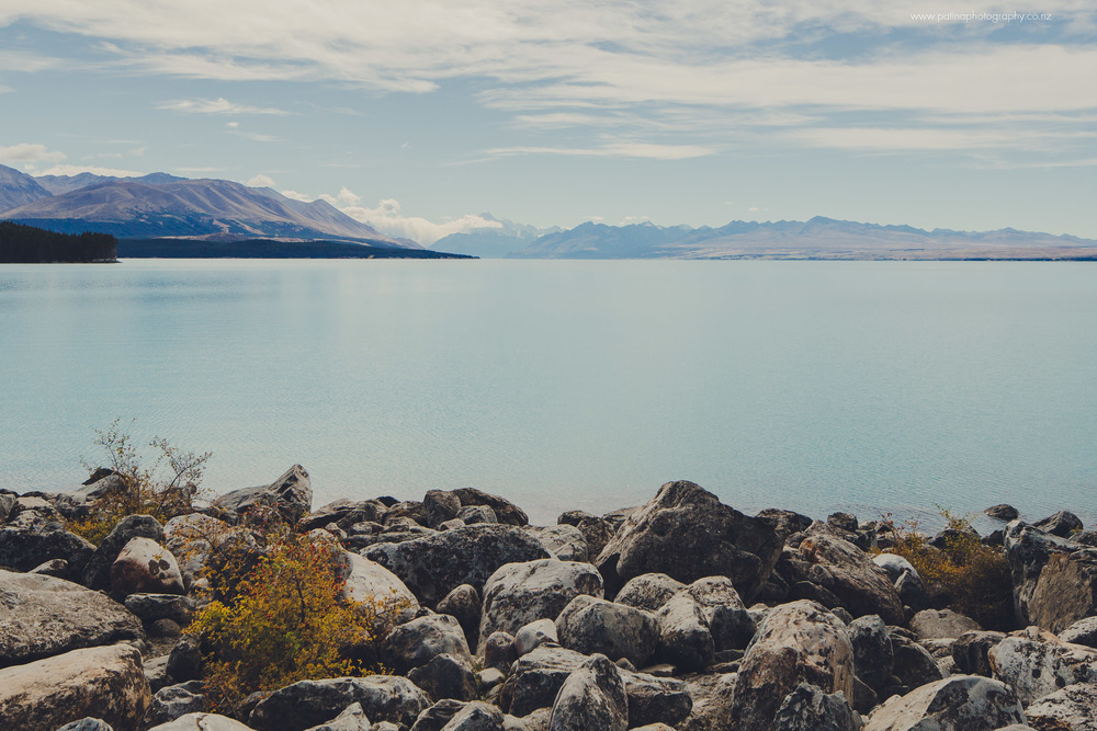 Lake Pukaki looking towards Mt Cook