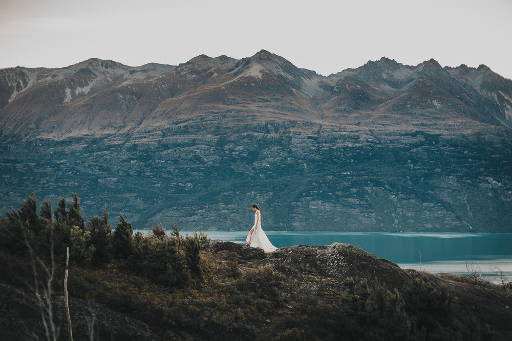 Glenorchy wedding photos