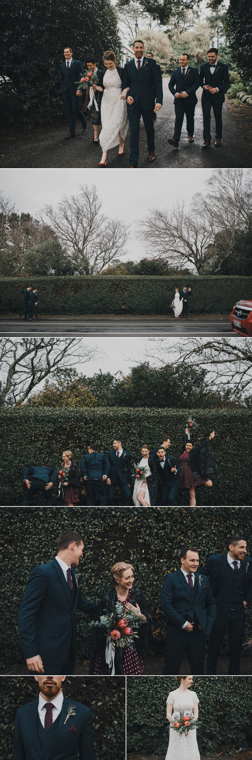 Bridal Party Fun Wedding Photos
