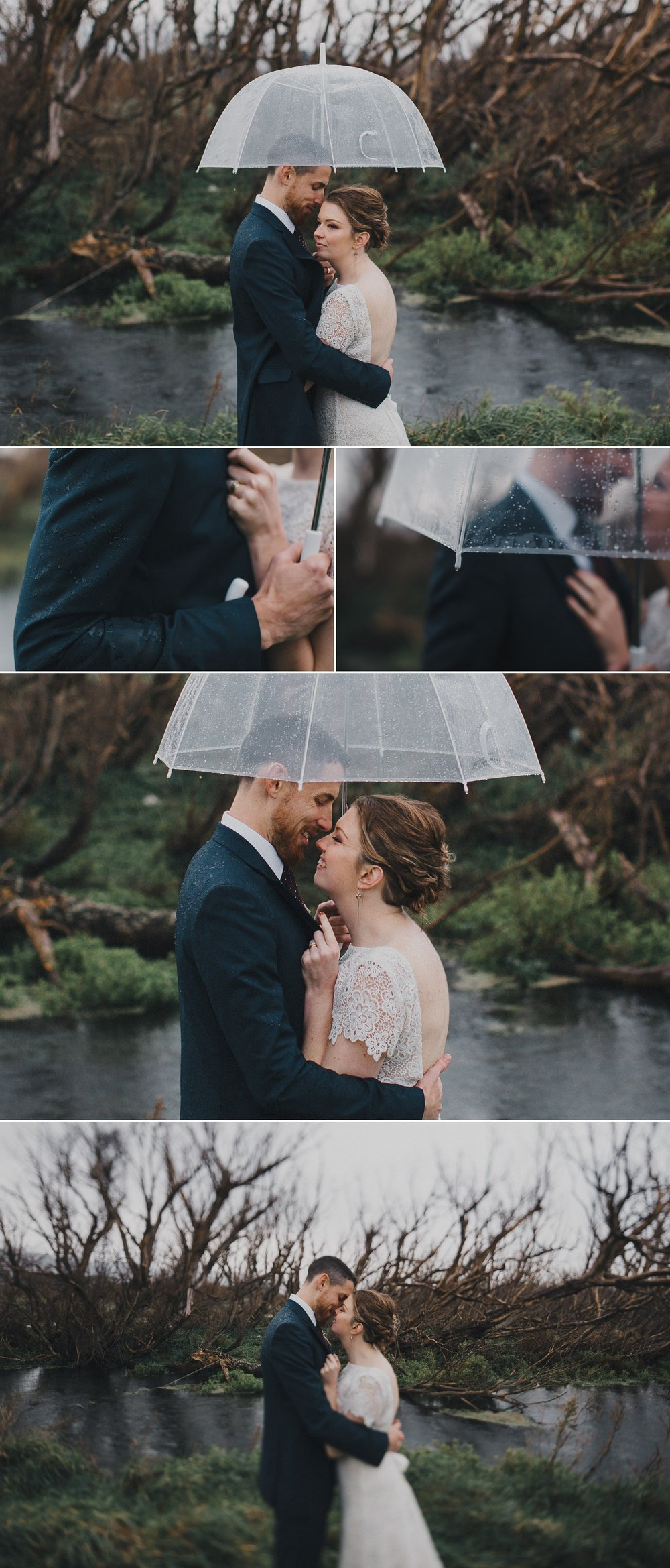 Wairarapa Wedding in the Rain