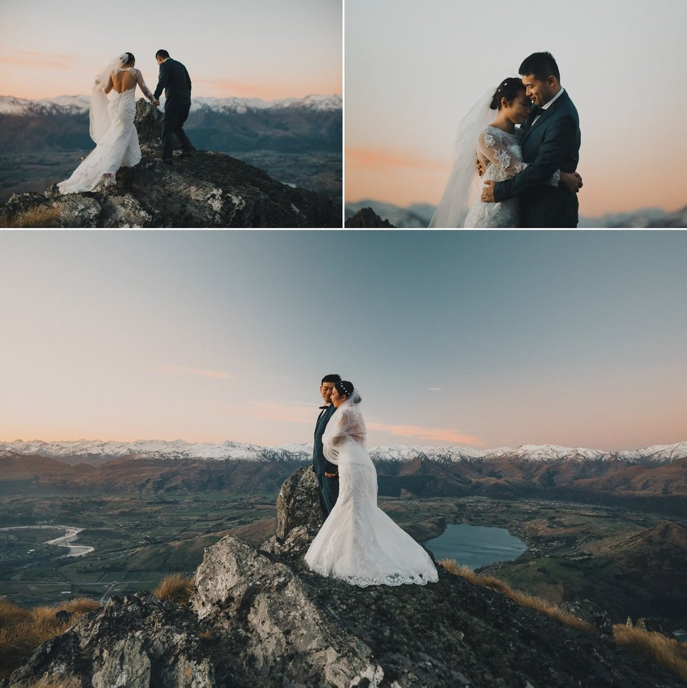 New Zealand pre wedding in September