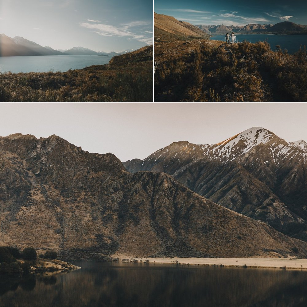 Queenstown scenery at Lake Moke