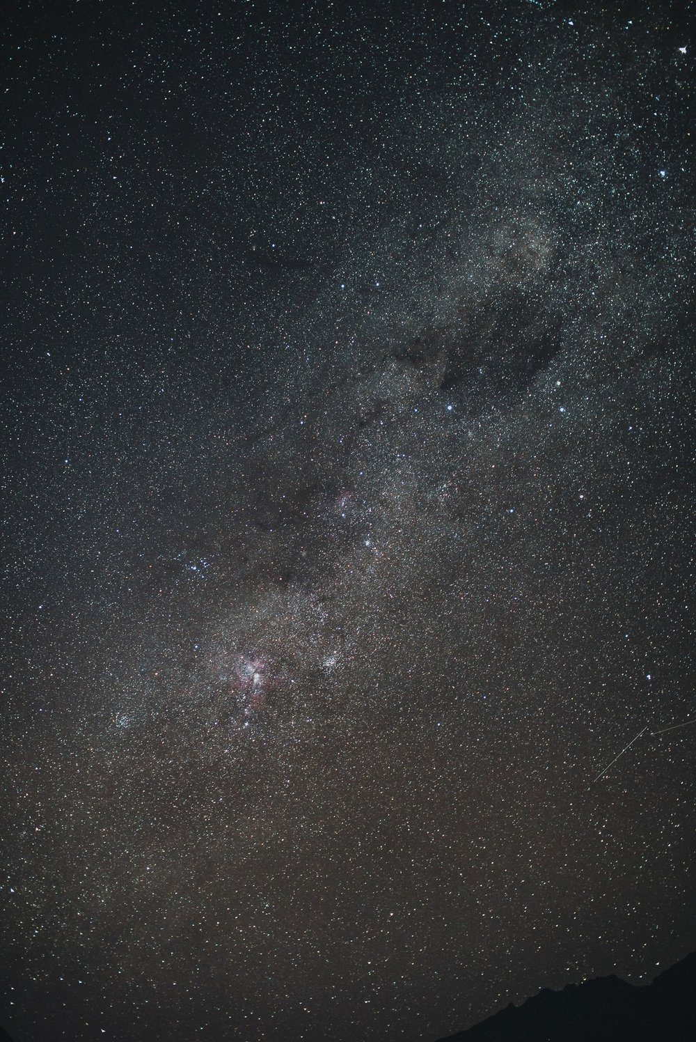Milky Way at Lake Moke Queenstown