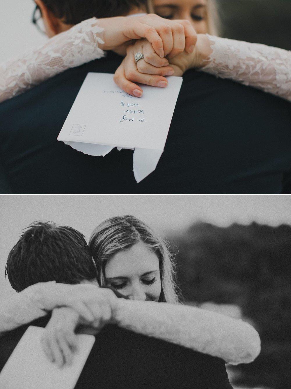 Candid wedding photography of couple