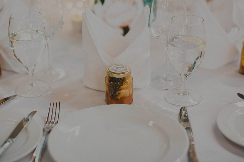 DIY thoughtful handmade wedding favors