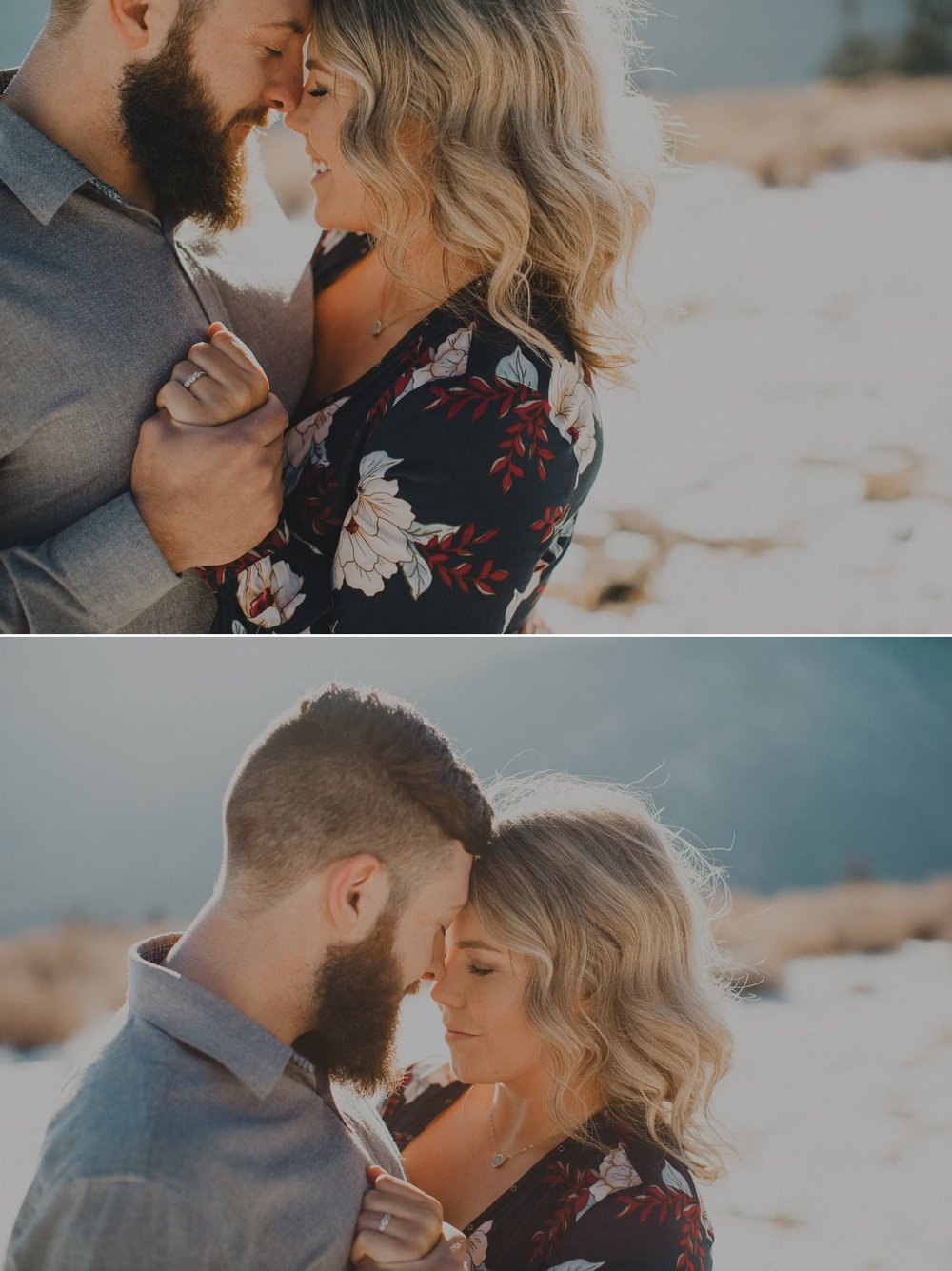 Emotive engagement photography