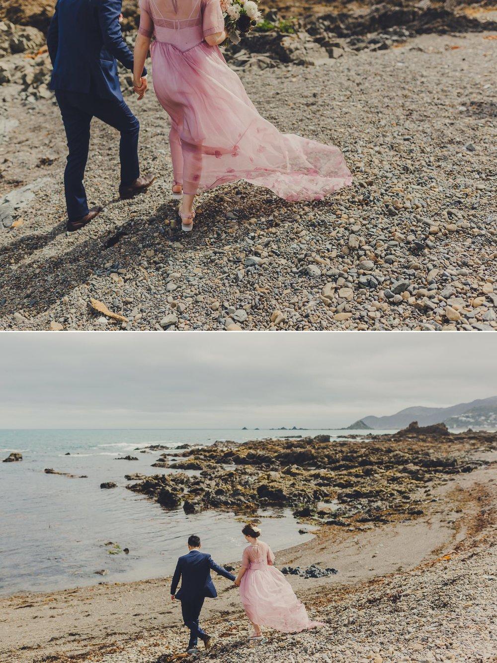 Wellington south coast seaside wedding