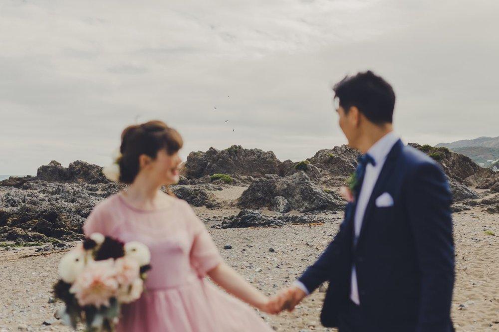 Wellington south coast wedding