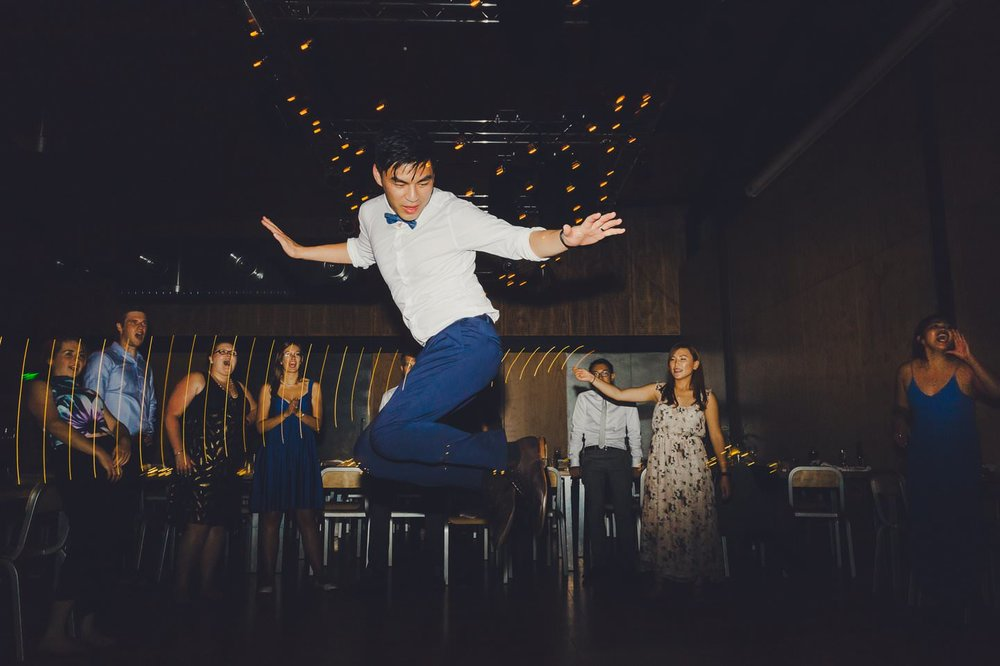 Hipster Wedding, dancefloor craziness