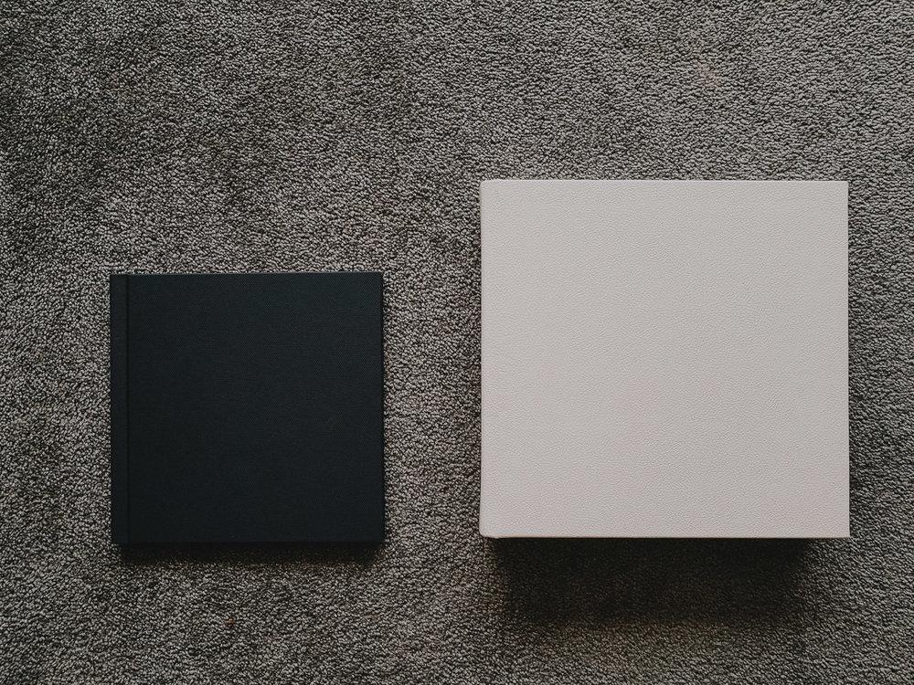 "8 x 8"" Photobook vs 10 x 10"" Flushmount Album"