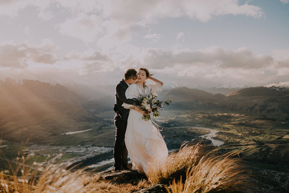 Pre-wedding photography in Queenstown New Zealand