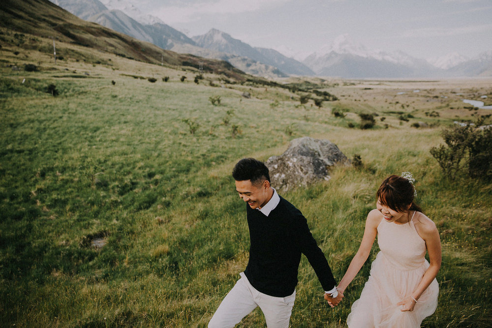 Pre-wedding photography Tekapo Mt Cook | http://patina.photo