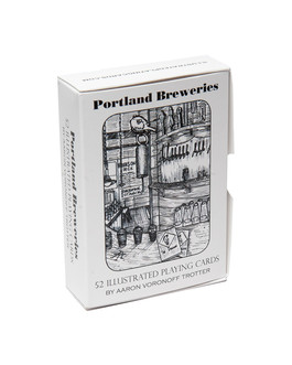 Portland Breweries Playing Card