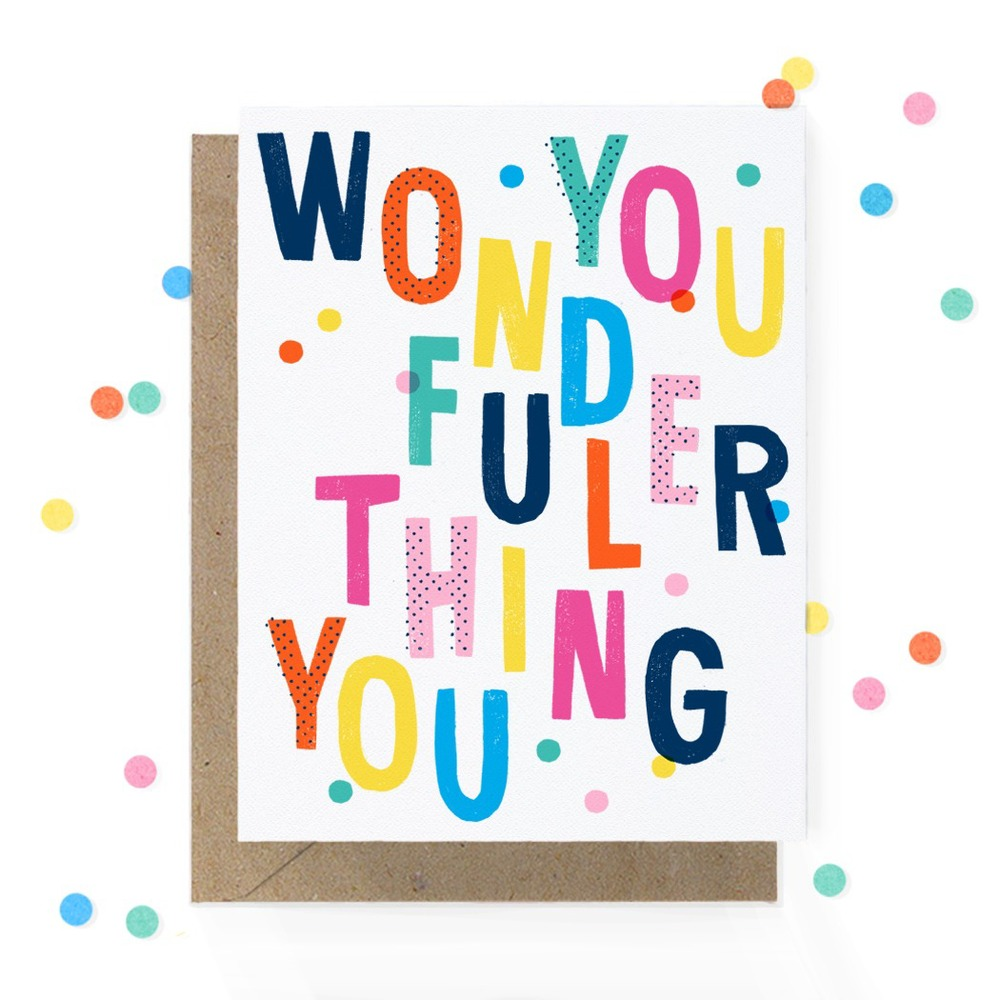 Greeting Card from  Hooray Today!