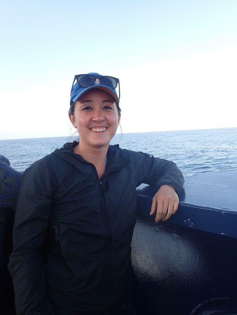 Lisa Robison - Lisa is studying the habitat connectivity of California killifish and Diamond turbot in San Diego wetlands, using otolith microchemical analysis. Passionate about marine ecology and conservation, her research focuses on how marine species respond to changes in their environment.