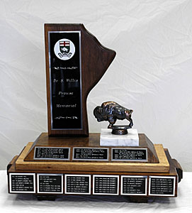 Dr. Willis S. Prowse Memorial Trophy