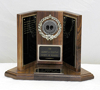 Gilbert & Sullivan Society Trophy