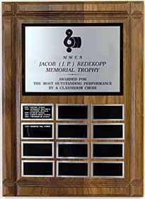 Jacob (J.P.) Redekopp Memorial Trophy