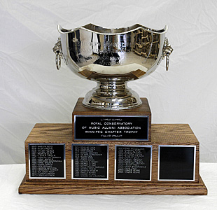 Royal Conservatory of Music Alumni Association Winnipeg Chapter Trophy