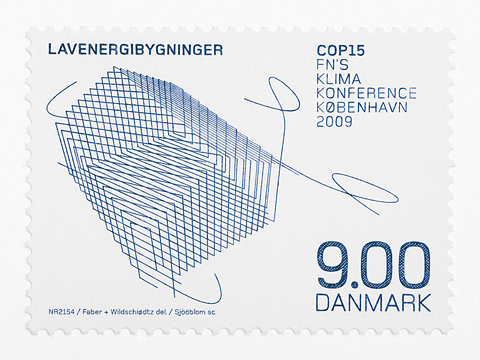 Ultra sharp Danish stamp. Lavenergibygninger looks extremely cool, although I have no idea what it is…