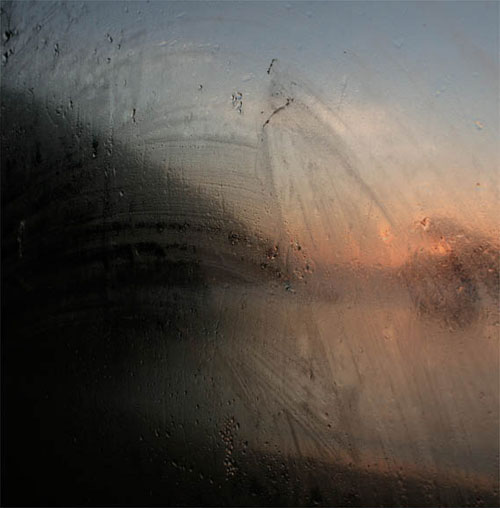 Beautiful photographs from Jenny Pollak simply taken through misted up windows. Given that Turner had cataracts, I wonder if he was simply painting the world as they appear in these images?