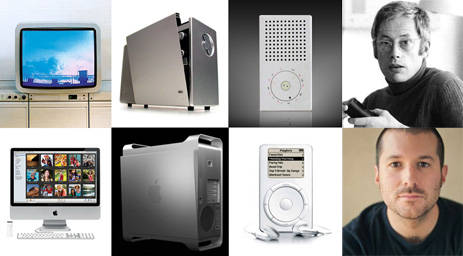 1960s Braun products hold the secret to Apple's future Embarrasingly evident article from Gizmodo illustrating Dieter Rams' influence on Jonny Ive's product design work for Apple. Clearly this is not a simple case of copy cat work, more that the *outstanding* oeuvre of Rams' work is rightly echoed and still relevant nearly 50 years later. It is also an excellent excuse to post Rams' 10 rules of good design: • Good design is innovative. • Good design makes a product useful. • Good design is aesthetic. • Good design helps us to understand a product. • Good design is unobtrusive. • Good design is honest. • Good design is durable. • Good design is consequent to the last detail. • Good design is concerned with the environment. • Good design is as little design as possible.
