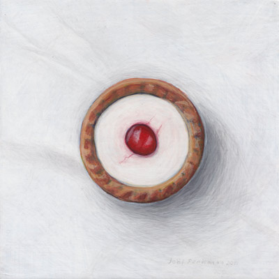 Joël Penkman's paintings of food.