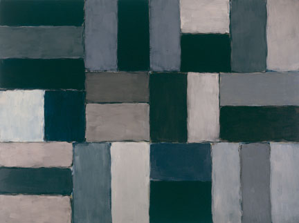 Sean Scully Raphael 2004 Oil on linen, 108 x 144 inches