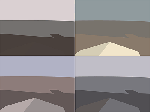 Whitstable colour studies (self)