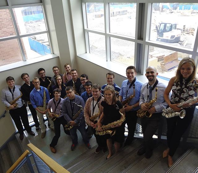 Welcome to the Instagram of the Penn State Saxophone Studio! On this account, we will post about recitals, concerts, and other events that members of our studio participate in. Check out our Facebook page and our newly-renovated website!! (links are in bio) 🎷🎵