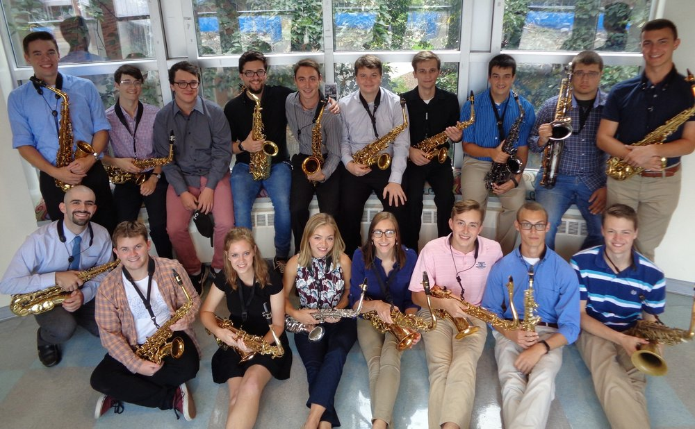 Penn State Saxophone Studio 2017-2018