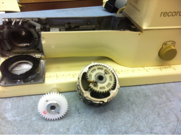 Bernina 730 camstack gear — Sewing Machine Service by Wayne