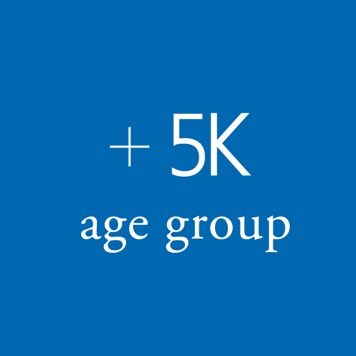 5K age group