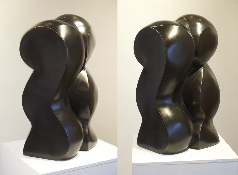 2016,  27 x 13 in.  Bronze,  Edition of 10